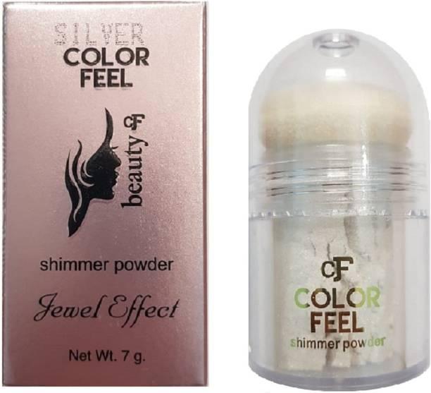 SILVI Color Feel Shimmer Powder Silver ( 1 Pc x 7 g )