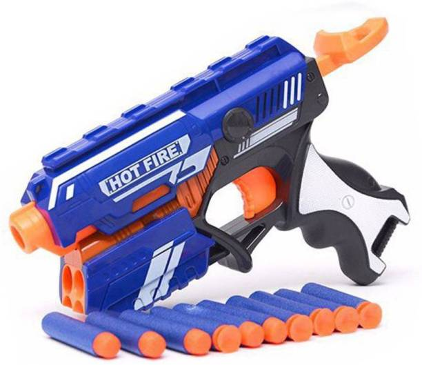 Aarna Manual Soft Bullet Shooting Pistol Toy Gun Guns & Darts