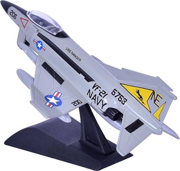 Motormax Boeing F-4 Phantom II, Collectible Model Fighter Plane