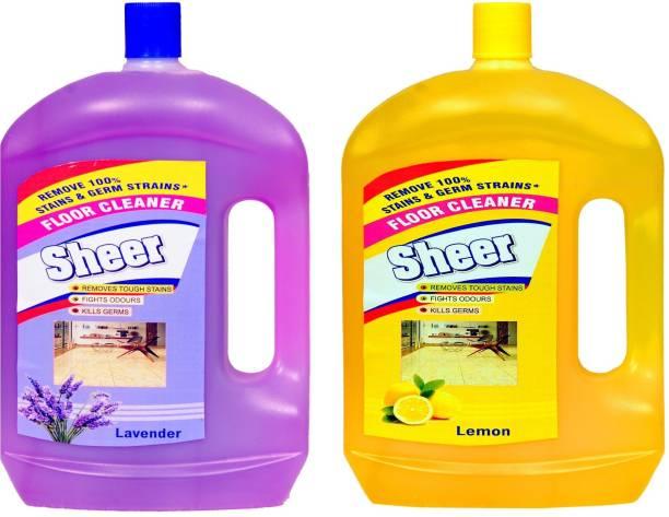 Sheer Disinfectant floor cleaner 2 Ltr each Lavender, Lemon