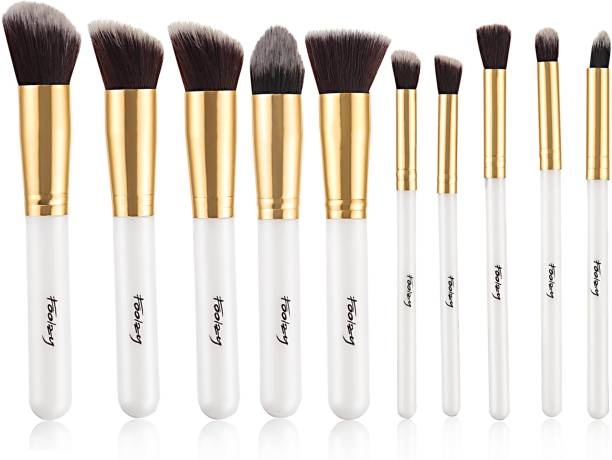 FOOLZY Pick Me Up ! Makeup Brush Collection 10 Pcs…