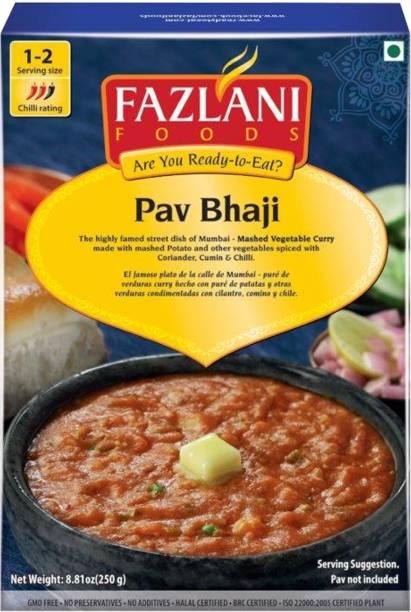 FAZLANI FOODS Ready to Eat Pav Bhaji , (Pack of 1, 250 gm) 250 g
