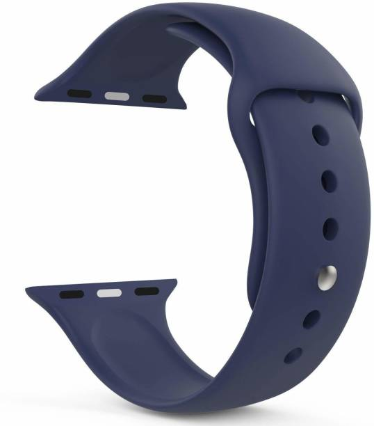 Big Wings Soft Silicone Sport Strap Band for iWatch Series 5, Series 4, Series 3, Series 2, Series 1 / Soft Silicone Waterproof Strap for Watch 42 MM / 44 MM Smart Watch Strap