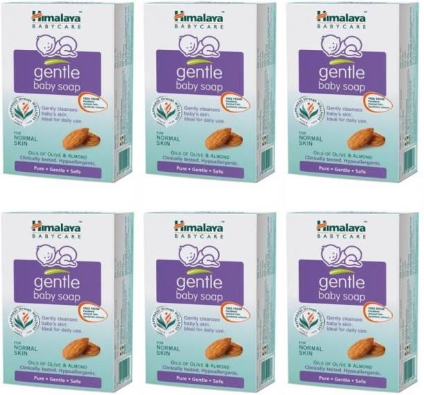 Himalaya Herbals Gentle Baby Soap 75g X 6 Packs