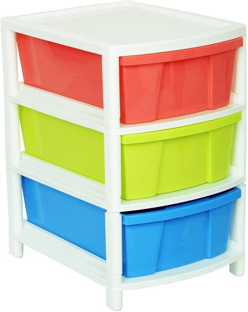 Aristo Everest_Drawer_3 Plastic Free Standing Chest of Drawers