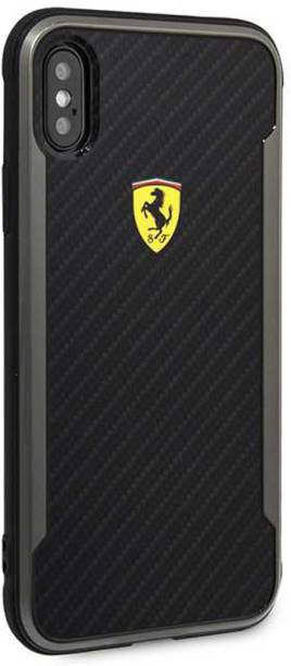 Ferrari Back Cover for iPhone Xs Max APERTA Ultra-Thin with carbon fiber Case