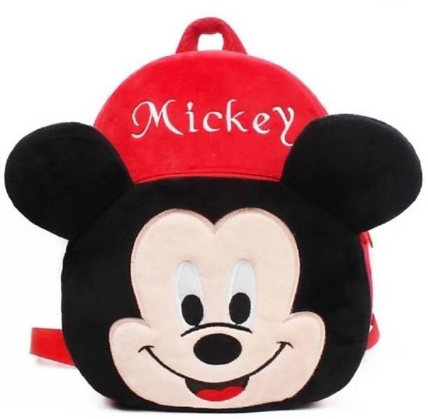 3G Collections Mickey Teddy Bear Soft Toy Kids Plush Bag/ Backpack Bag/ School Bag/ Carry Bag/ Picnic Bag/ Teddy Bag Waterproof School Bag