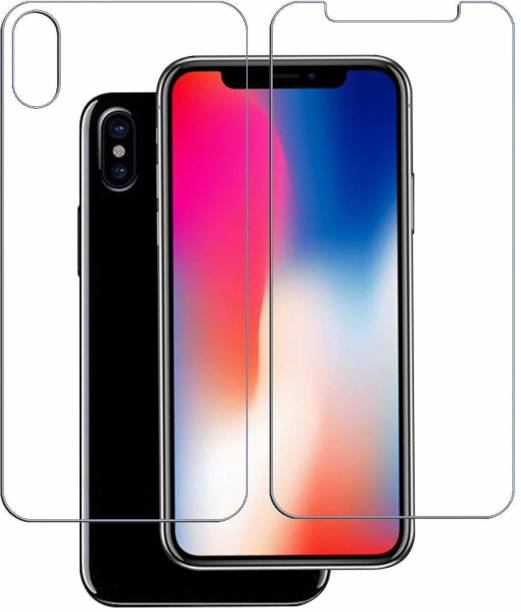 VaiMi Front and Back Tempered Glass for Apple iPhone XS