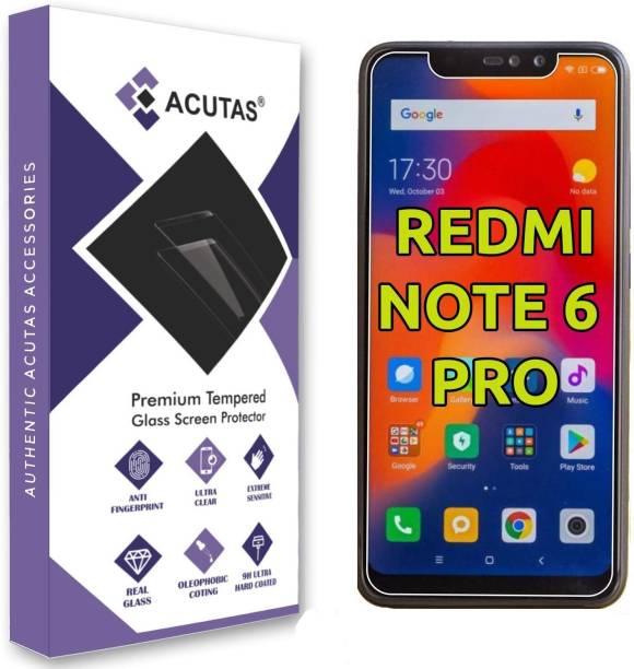 ACUTAS Tempered Glass Guard for Mi Redmi Note 6 Pro