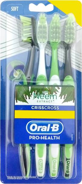 Oral-B Pro Health Crisscross with Neem Extract Soft Toothbrush