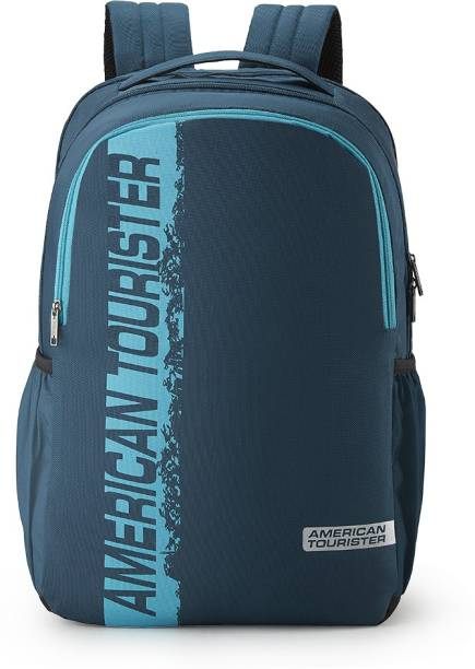 AMERICAN TOURISTER SPIN LAPTOP BACKPACK 01 - TEAL 29 L Laptop Backpack