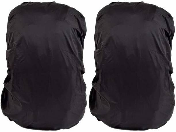 SHAFIRE 2Pcs Waterproof Backpack Rain Cover with Stored Bag 30L to 40L, Waterproof School Bag Cover