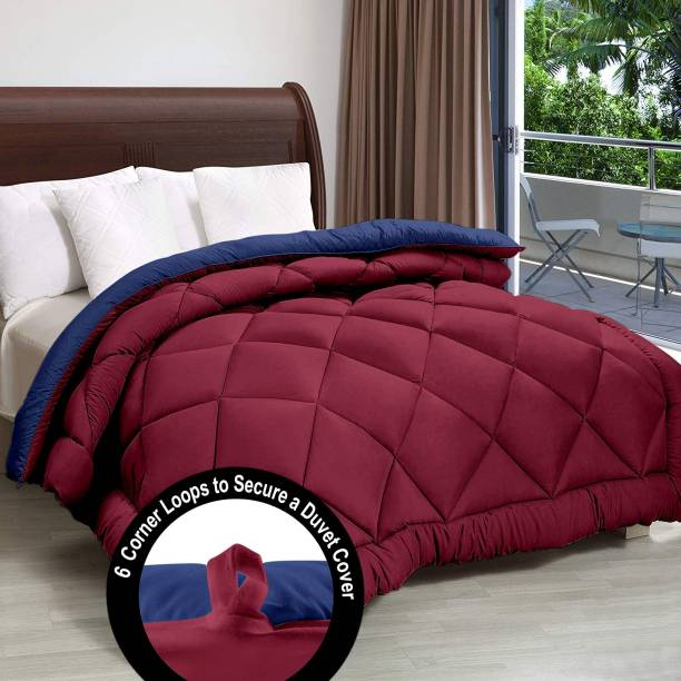 Cloth Fusion Solid Double Comforter