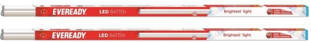 EVEREADY LED Batten 4ft T5 - 20W ( 6000K cool day Light) Straight Linear LED Tube Light