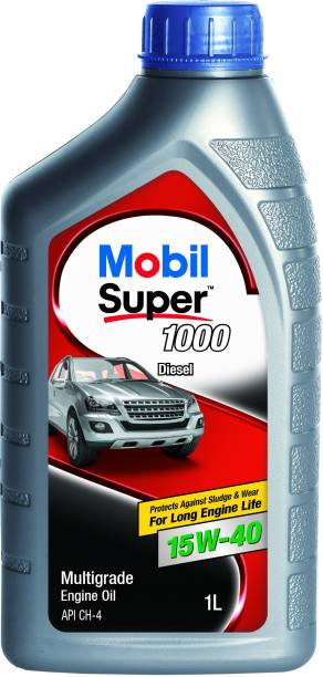 MOBIL Super 1000 Diesel 15W-40 Synthetic Blend Engine Oil