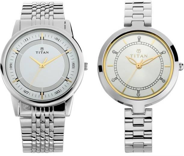 Titan Analog Watch  - For Couple