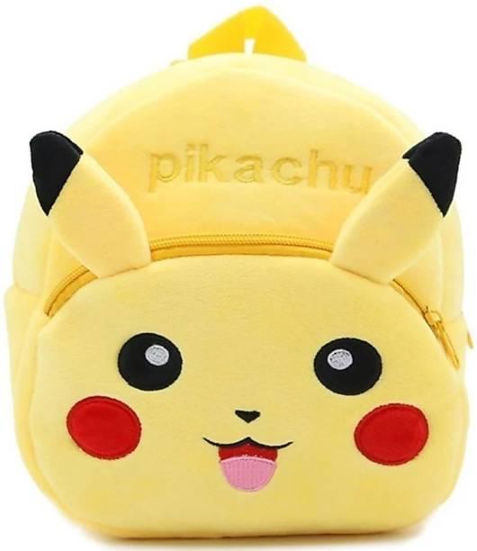 3G Collections Pikachu Soft Toy Bag, Plush Bag, Teddy Bag School Bag