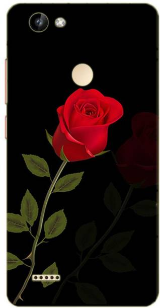 METOO Back Cover for Itel Wish A41 Plus, Flower Design Back Cover Print : 135