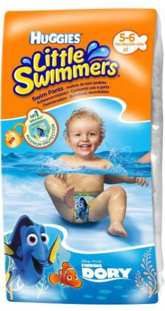 Huggies Little Swimmers Swim Pants Finidng Dory 5-6 Years Medium Size - L