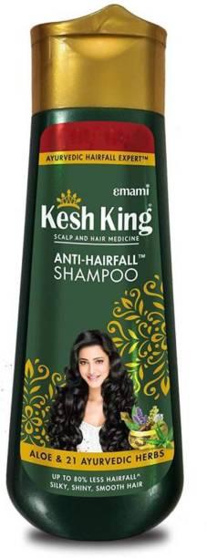 Kesh King Scalp And Hair Medicine Anti Hairfall Shampoo, 340*2 ml