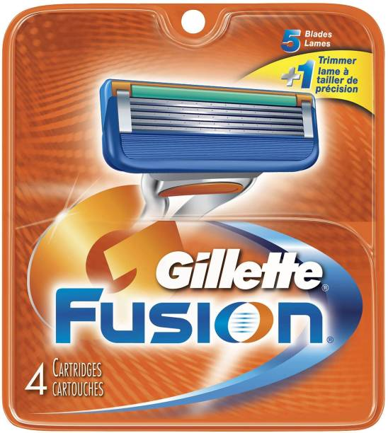 GILLETTE Fusion Manual Shaving Razor Blades