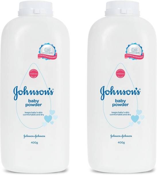 JOHNSON'S Baby Power ( Meets Our Global Safety Standards ) 400g X 2 = 800g