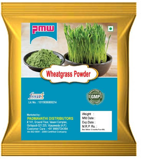 PMW Grade A Quality - Wheat Grass Powder - 100 Grams