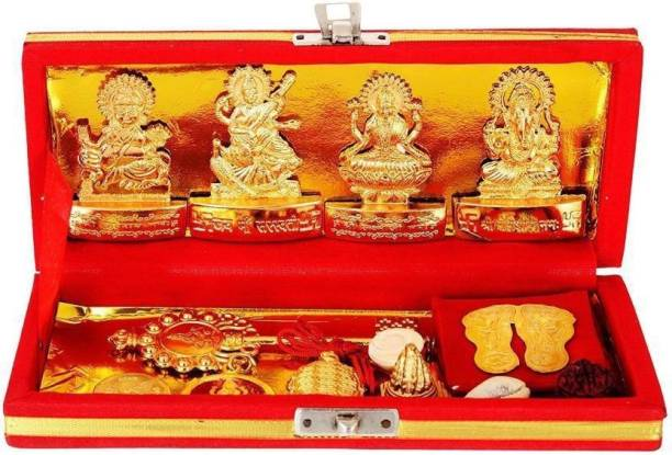 Ayurpatra Shri Dhan Laxmi- Kuber Bhandari Yantra Brass Yantra Brass Yantra
