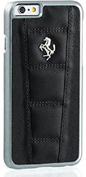 Ferrari Back Cover for iPhone 7 Plus / iPhone 8 Plus Official 458 Double Stitched Dual-Material PU Leather Case