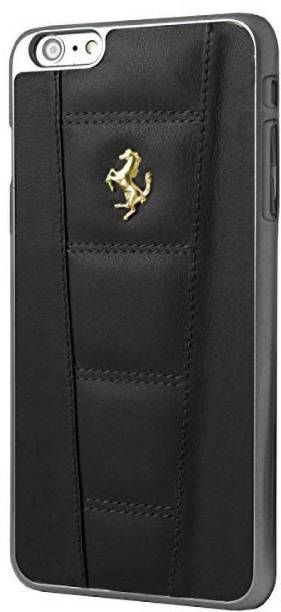 Ferrari Back Cover for iPhone 7 / iPhone 8 Official 458 Double Stitched Dual-Material PU Leather Case