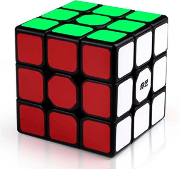 Cubelelo QiYi Sail W 3x3 Black Puzzle toy speed cube