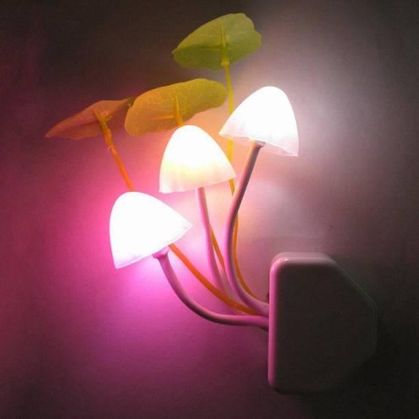 Vbhretail MUSHROOM NIGHT LIGHT HOME DECOR LIGHTING IN STAR ROOM MULTICOLOR CODE AXVI Table Lamp