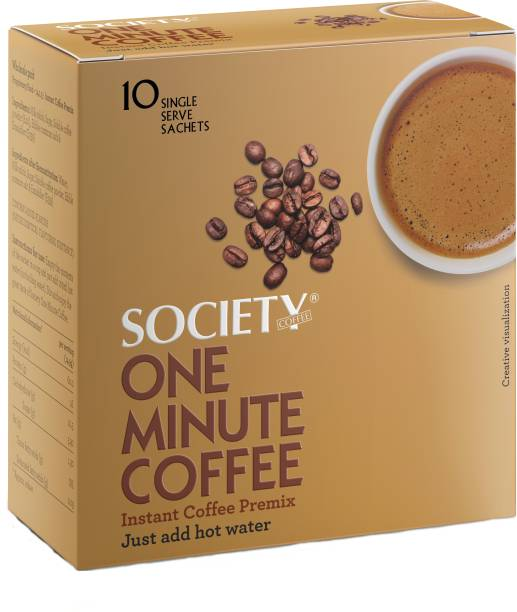 Society One Minute Instant Coffee