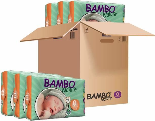Bambo Nature Tape Diapers 1-3kgs Premature - Premature