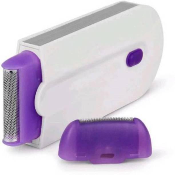 MOOZICO New Standard For Touch Instant Painless Facial Body Hair Remover Hair Remover Trimmer Shaver For Women Men Cordless Epilator