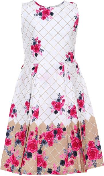 Aarika Girls Midi/Knee Length Party Dress