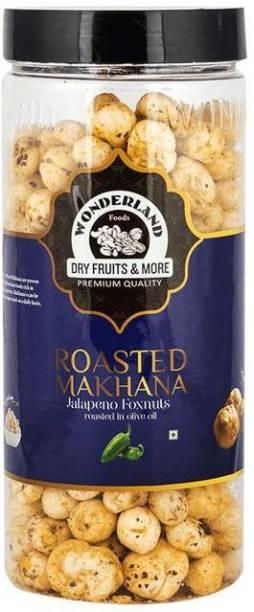 WONDERLAND Makhana Roasted Jalapeno Foxnuts Assorted Nuts