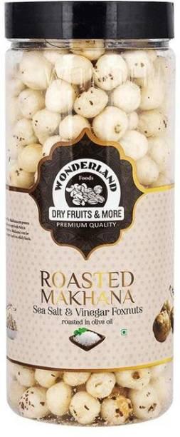 WONDERLAND Makhana Roasted Sea Salt & Vinegar Foxnuts Assorted Nuts