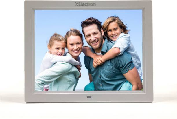XElectron DPF1203-W 12 inch Digital Photo Frame (IPS Technology) BIS certified, (4GB Pen Drive Free)