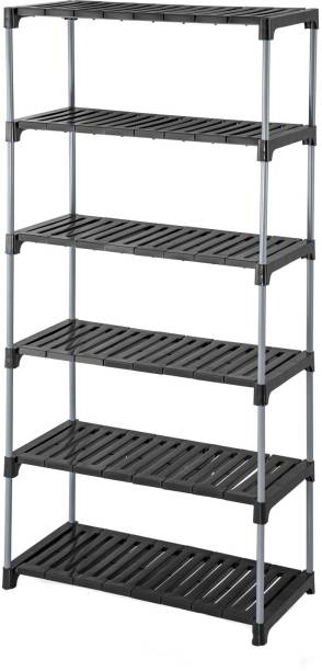 MEDED CGS Extra Strong Multipurpose Rack Plastic, Steel Wall Shelf