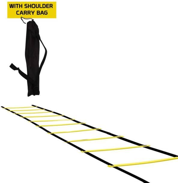 FITSY Adjustable Speed Training Agility Ladder Speed Ladder