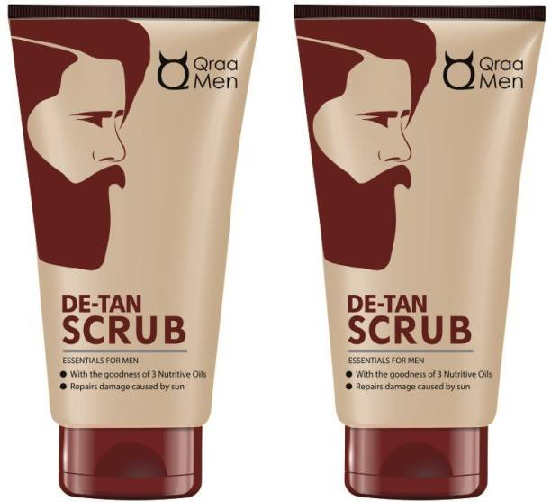 Qraa De -Tan Scrub (Pack of 2) Scrub