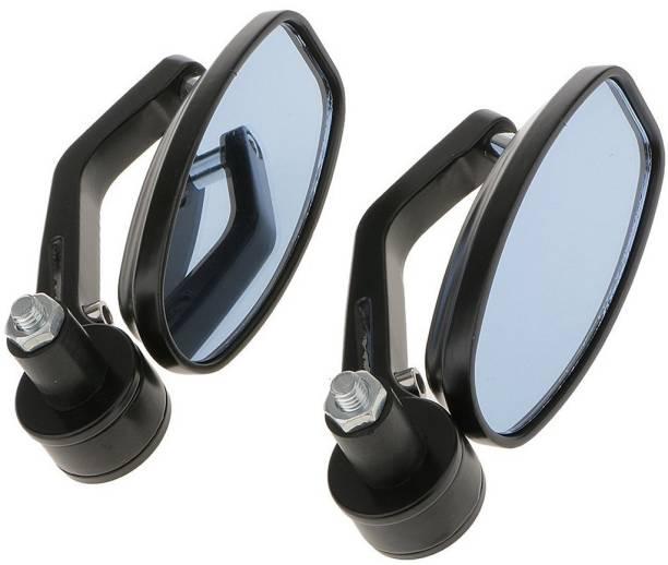 JCTEK Manual Rear View Mirror For Royal Enfield Avenger 220 DTS-i, Pulsar 150, Appache RTR 160