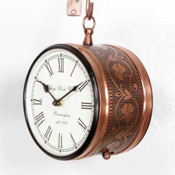 kamdhenu art and craft Analog 30 cm X 30 cm Wall Clock