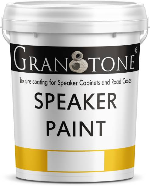 Granotone Sand Finish Speaker Cabinet Texture Coating BLACK Functional Wall Paint
