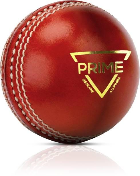 Adrenex by Flipkart Prime 4 Panel Red Cricket Leather Ball