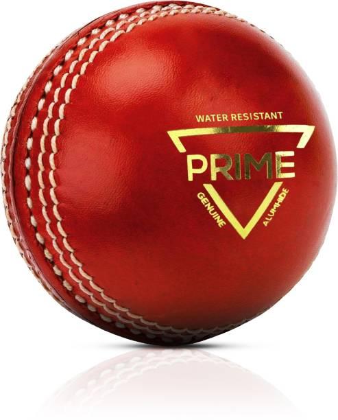 Adrenex by Flipkart Prime 2 Panel Red Cricket Leather Ball