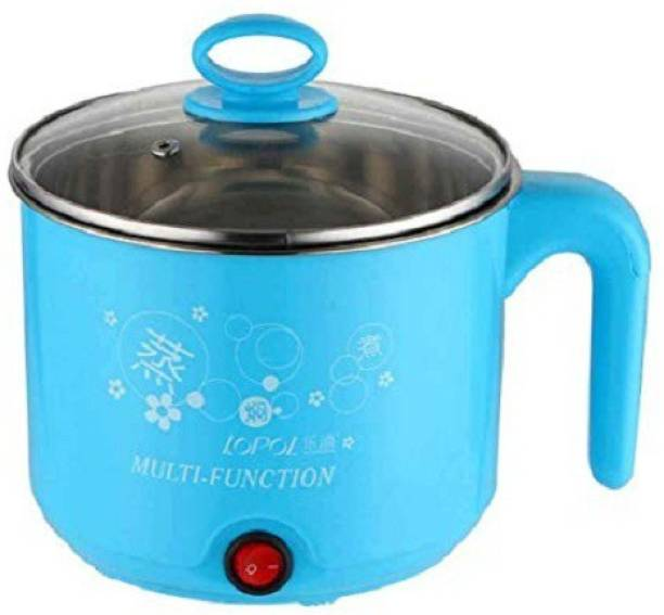 LUDDITE Mini Electric Pressure Cooker, Food Steamer, Egg Cooker, Egg Boiler