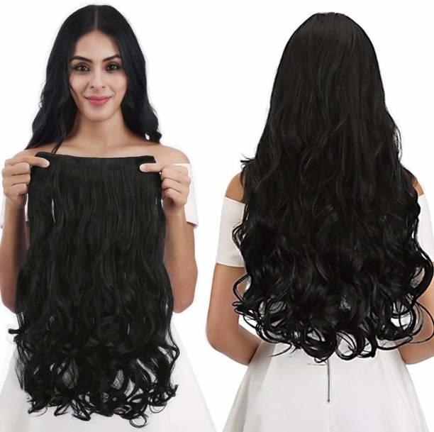PEMA Black Curly Hair Extension