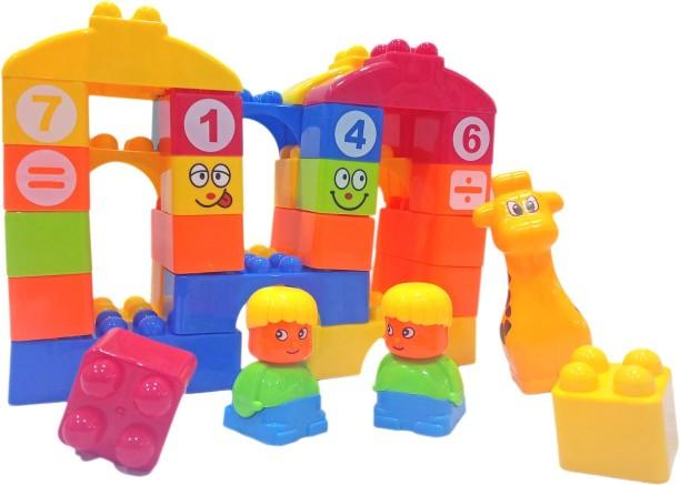 Blocks for Children Little Boy Dinosaur 35pcs  age 3+
